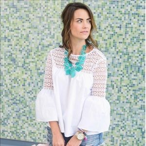 Baublebar Seaglass Bib Necklace